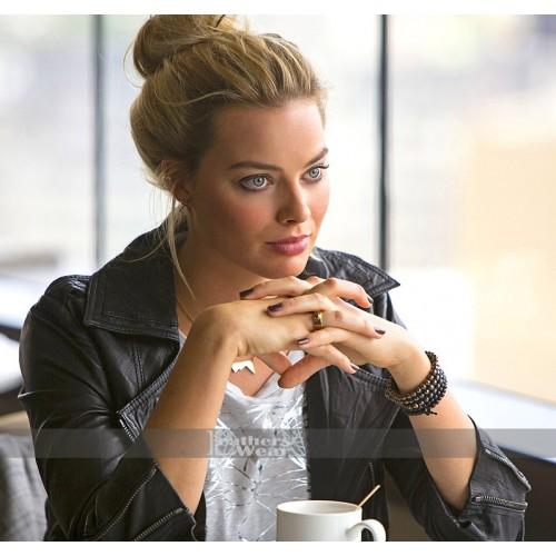 Focus Margot Robbie (Jess Barrett) Leather Jacket