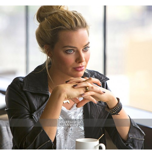 Focus Margot Robbie (Jess Barrett) Leather Jacket