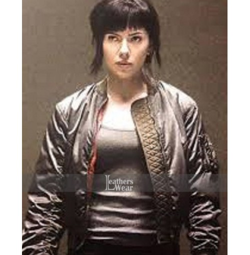 Ghost In The Shell Scarlett Johansson (Major) Jacket