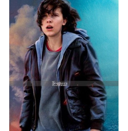 Godzilla King Of The Monsters Millie Bobby Brown Jacket