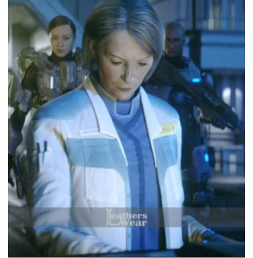 Halo 5 Guardians Catherine Elizabeth Halsey Leather Jacket