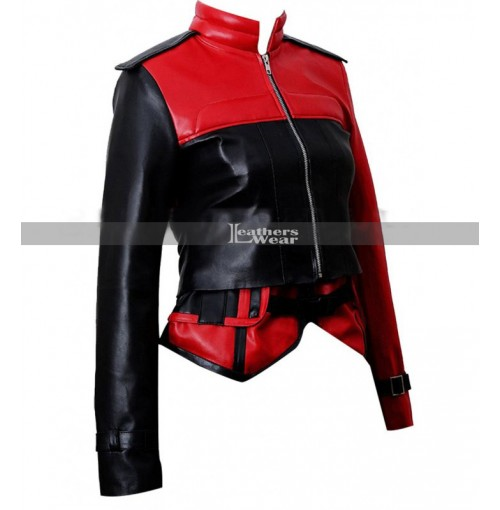 Injustice 2 Harley Quinn Leather Jacket