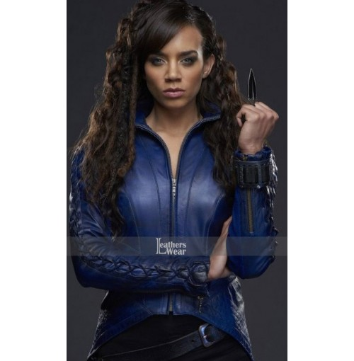 Killjoys Hannah John-Kamen Dark Blue Jacket