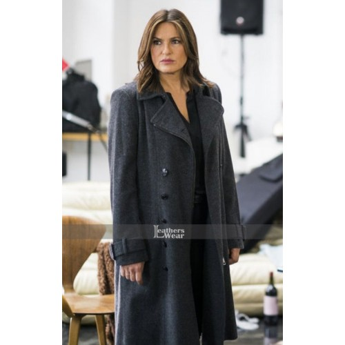 Chicago P.D Olivia Benson Black Coat