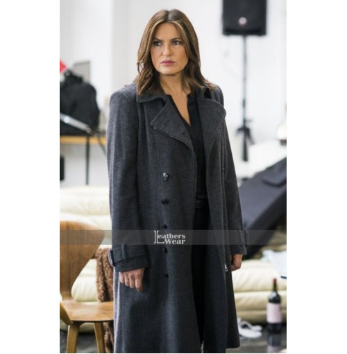 Chicago P.D Olivia Benson Black Coat