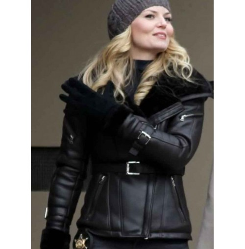 Once Upon A Time Emma Swan Black Jacket