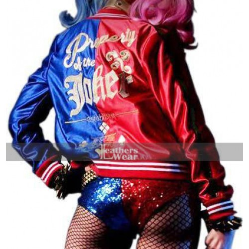 DC Comics Suicide Squad Harley Quinn Property Of Joker Jacket