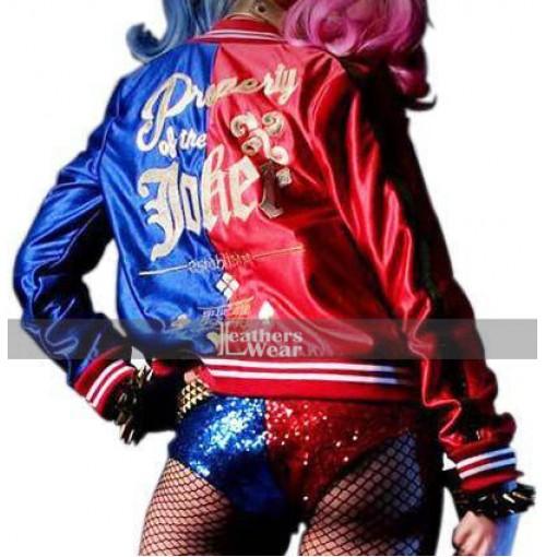 DC Comics Suicide Squad Harley Quinn Property Of Joker Jacket