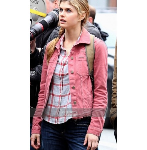 Sea Of Monsters Alexandra Daddario Jacket