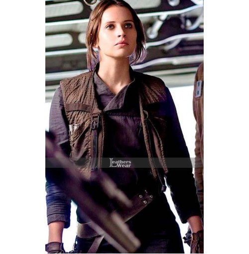 Star Wars Rogue One Felicity Jones (Jyn Erso) Jacket and Vest