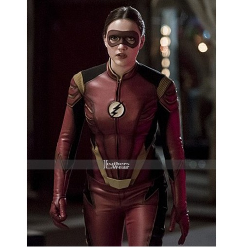 Check Out Jesse Quick's Cool Costume