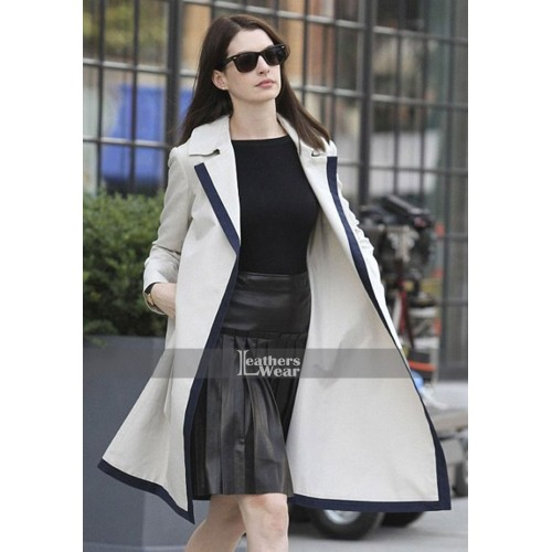 The Intern Anne Hathaway (Jules Ostin) Long Coat