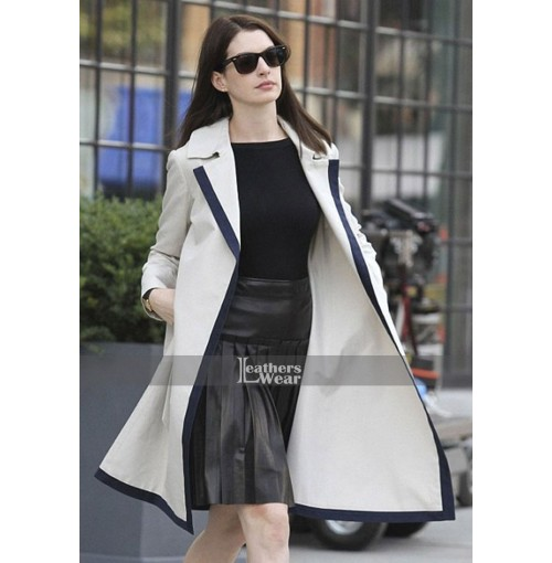 The Intern Anne Hathaway (Jules Ostin) Long Coat