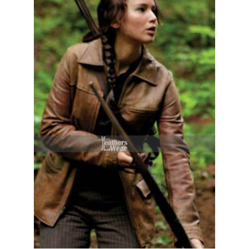 Hunger games leather jacket