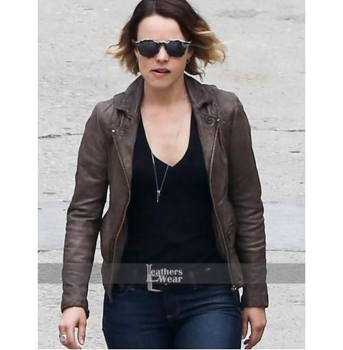 True Detective Rachel McAdams (Ani Bezzerides) Brown Jacket