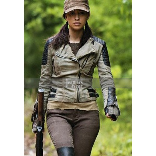 Walking Dead S5 Christian Serratos Jacket