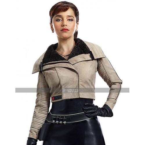 Solo A Star Wars Story Qira Jacket   Emilia Clarke