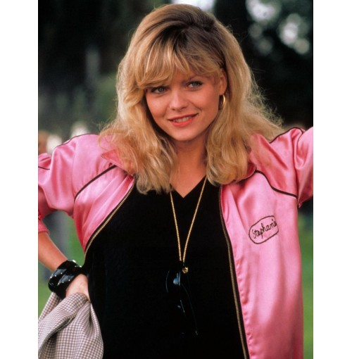 Grease 2 Michelle Pfeiffer (Stephanie Zinone) Pink Jacket