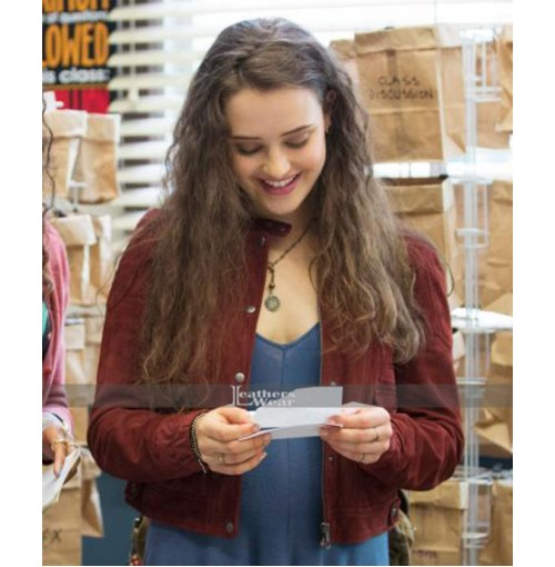 13 Reasons Why Hannah Baker Red Jacket