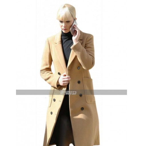 Red Sparrow Jennifer Lawrence (Dominika Egorova) Brown Coat