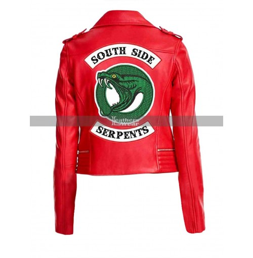 Riverdale Cheryl Blossom Southside Serpents Red Jacket