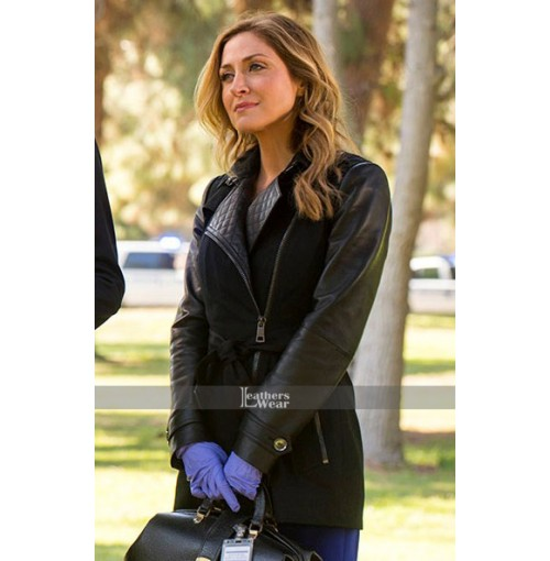 Maura Isles Rizzoli and Isles Black Coat
