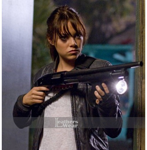 Zombieland Emma Stone (Wichita) Leather Jacket
