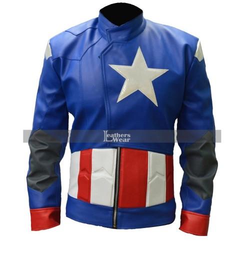 Captain America The First Avenger (Chris Evans) Leather Costume