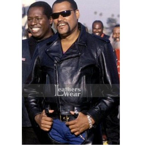 Biker Boyz Laurence Fishburne (Smoke) Leather Jacket