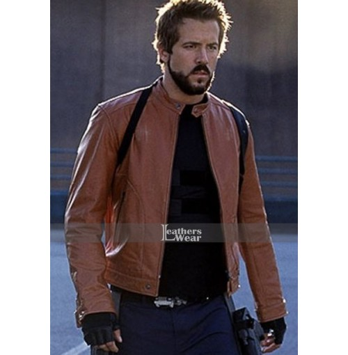 Blade Trinity Ryan Reynolds (Hannibal King) Leather Jacket