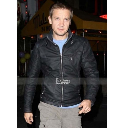 The Bourne Legacy Jeremy Renner (Aaron Cross) Leather Jacket