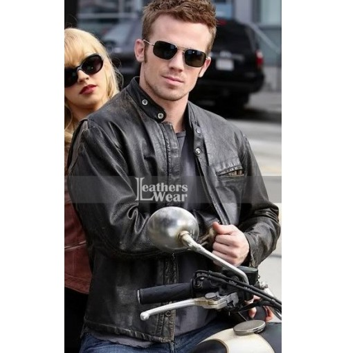 Burlesque Cam Gigandet (Jack) Black Jacket