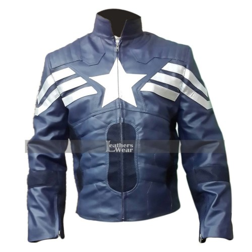 Captain America The Winter Soldier Jacket Costume