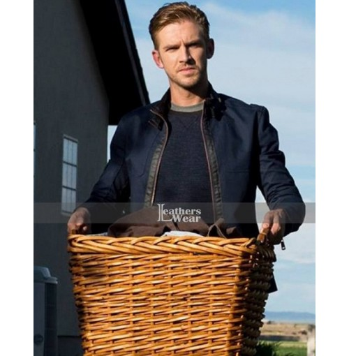 The Guest Dan Stevens (David) Leather Jacket
