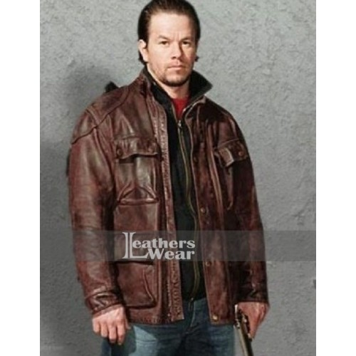Four Brothers Mark Wahlberg (Bobby Mercer) Leather Jacket