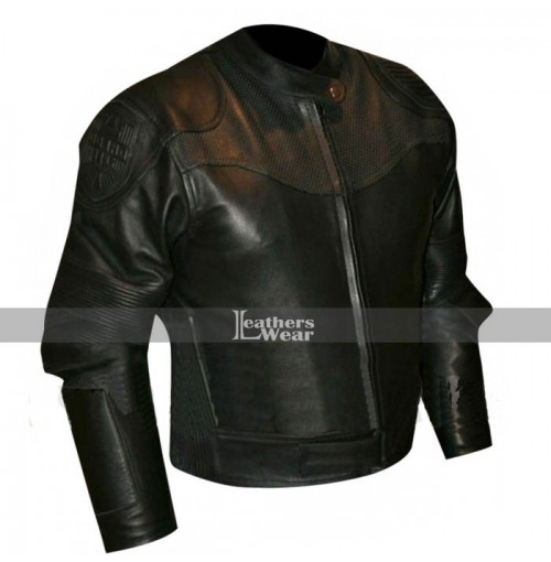 Judge Dredd 3D Karl Urban Leather Jacket Costume