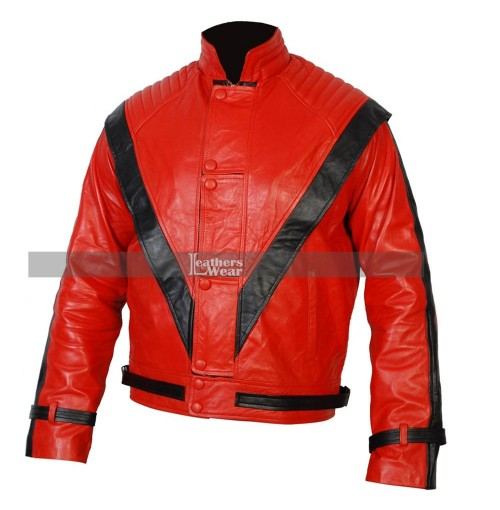Michael Jackson Thriller Red Costume Jacket