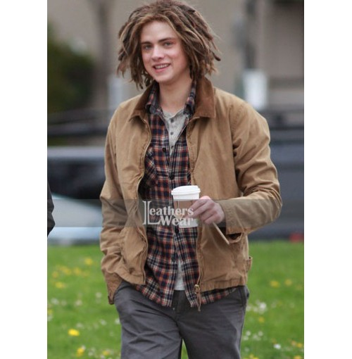 Sea of Monsters Douglas Smith (Tyson) Brown Jacket