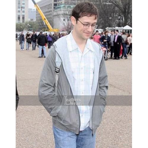 Snowden Joseph Gordon-Levitt (Edward) Cotton Jacket