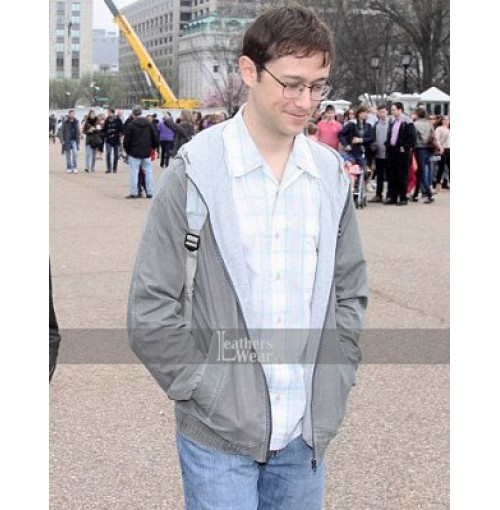 Snowden Joseph Gordon-Levitt (Edward) Cotton Jacket
