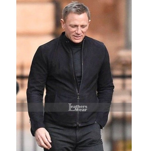 Spectre 007 James Bond Black Jacket