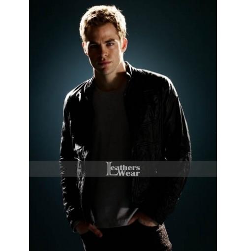 Star Trek Chris Pine (James T. Kirk) Black Jacket