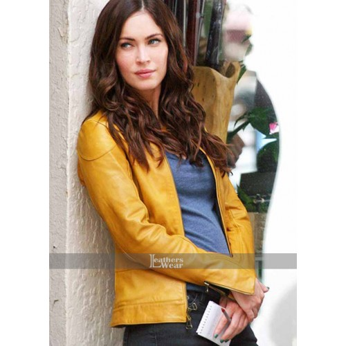 Megan Fox Teenage Mutant Ninja Turtles Yellow Jacket