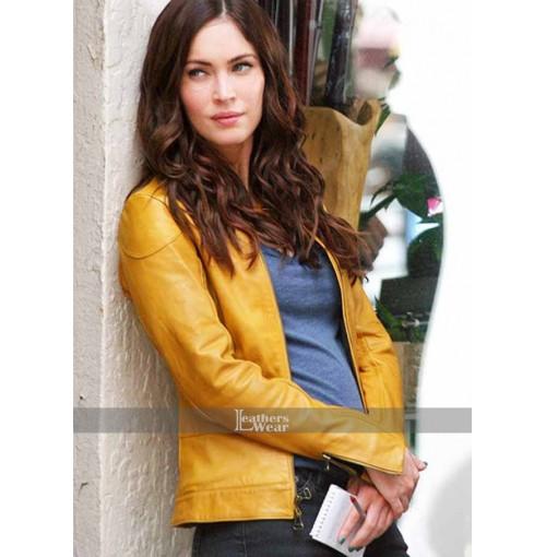 Megan Fox Teenage Mutant Ninja Turtles Yellow Jacket
