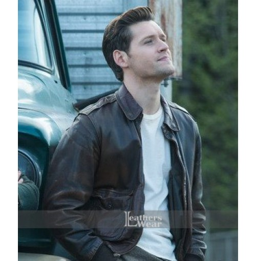 Joe Blake The Man in the High Castle Brown Jacket
