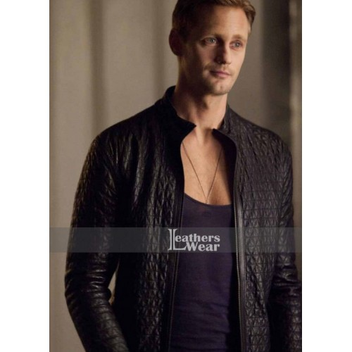 True Blood S4 Eric Northman (Alexander Skarsgård) Leather Jacket