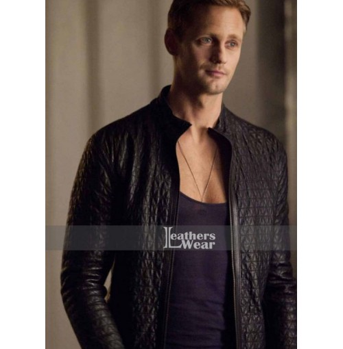 True Blood S4 Eric Northman (Alexander Skarsgård) Leather Jacket