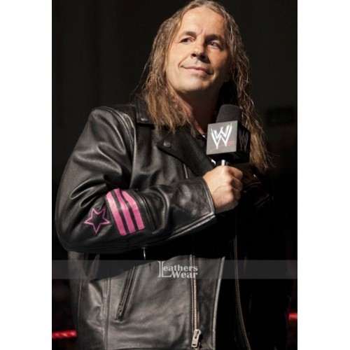 WWE Bret The Hitman Hart Jacket