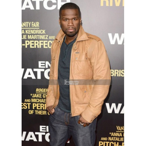 50 Cent Diesel Lisardo Leather Jacket