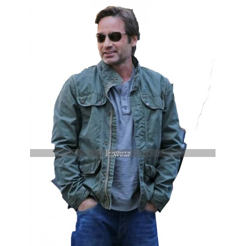 The X-Files David Duchovny (Fox Mulder) Cotton Jacket